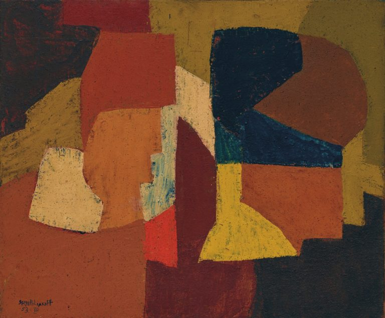 Poliakoff Composition Abstraite 1953 | PHILIPPE DAVID ZURICH