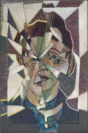 VICTOR VASARELY (1906 - 1997) Autoportrait
